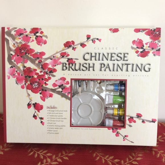 Chinese brush painting set